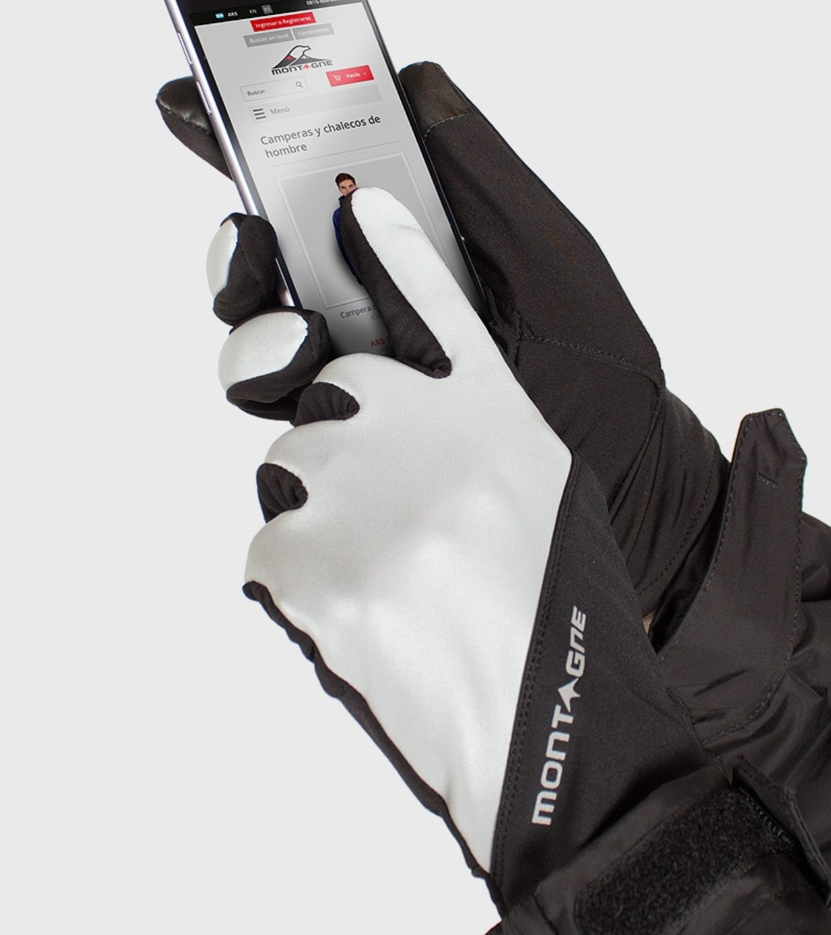 Guantes Grenland con touch screen