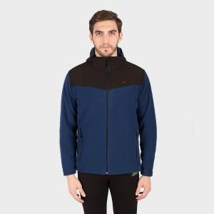 Campera polar de hombre Tibalt con capucha