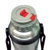 1 lt. Vacuum Flask with Shoulder Strap