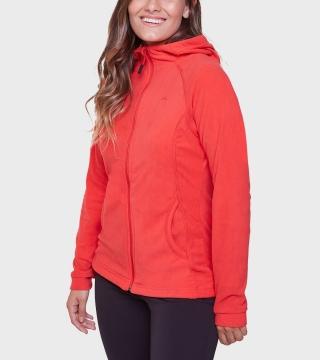 Campera de mujer de micropolar con capucha Aradia