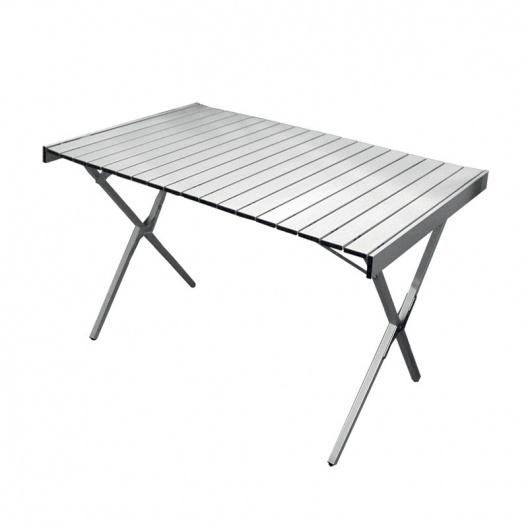 Mesa alu 110x70 for Mesa de camping plegable de aluminio