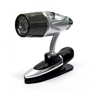 Linterna con pinza 3 LEDS New