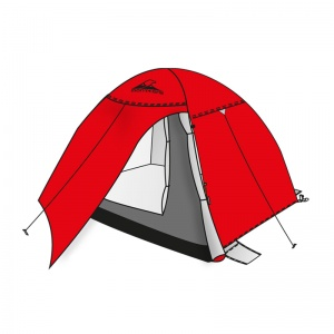 Shelter 2P igloo tent