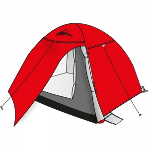 Shelter 6P igloo tent