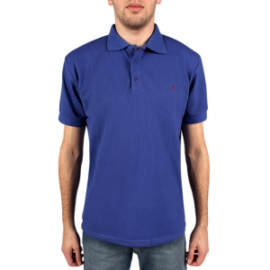 Basic pique polo shirt man