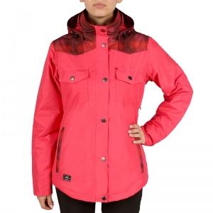 Frozen woman jacket