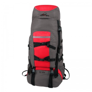 72lts Yak camping backpack.