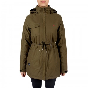 Ginger women parka