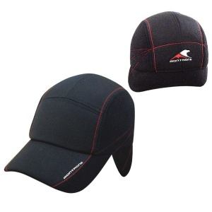 FL006 Cap with earflaps and backflap