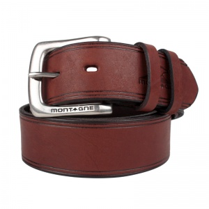 Cinturón de cuero de hombre Siwar