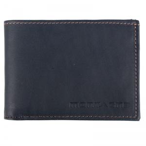 Billetera de cuero de hombre Tom