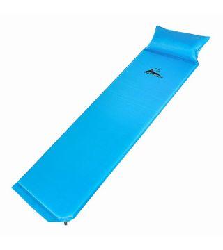 Colchoneta autoinflable con almohada
