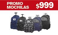 Logotipo Promo Mochilas a $999