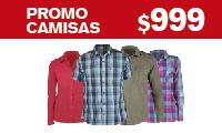 Logotipo Promo Camisas a $999