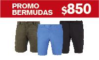 Logotipo Promo Bermudas a $850